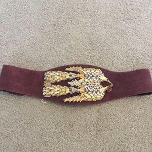 Vintage Eunice Carter statement belt